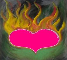 the flaming heart by foolperiod