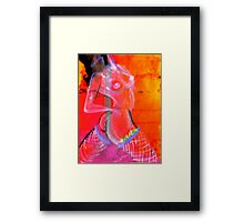 strippers paradise Framed Print