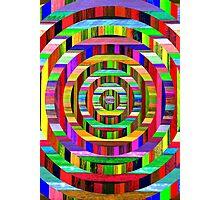 concentric delusion. Photographic Print