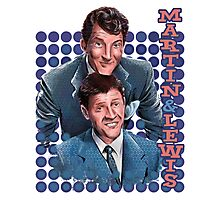 Dean Martin and Jerry Lewis Photographic Print