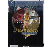 Leather Tuskegee Airmen iPad Case by Tollie Schmidt iPad Case/Skin
