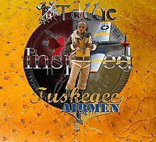Ostrich Tuskegee Airmen iPad Case by Tollie Schmidt by Tollie Schmidt