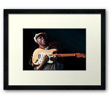 Blues Legend - Buddy Guy Framed Print