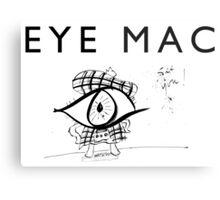 Eye Mac Metal Print