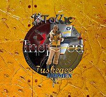 Ostrich Tuskegee Airmen iPhone Case by Tollie Schmidt by Tollie Schmidt