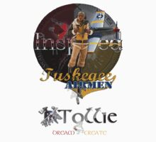 Tuskegee Airmen Inspired T-Shirt by Tollie Schmidt by Tollie Schmidt