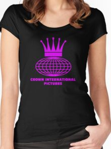 Crown International Women's Fitted Scoop T-Shirt