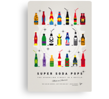 My SUPER SODA POPS No-00 Canvas Print