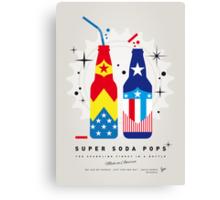 My SUPER SODA POPS No-24 Canvas Print