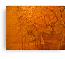 golden still life of magic Canvas Print