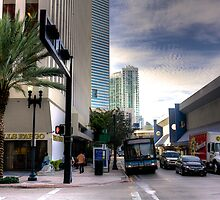 Miami- NE 1st Avenue by njordphoto