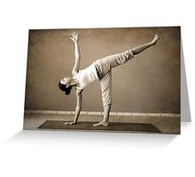 yoga7 Greeting Card