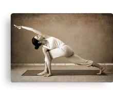 yoga4 Canvas Print