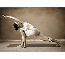 yoga4 Photographic Print
