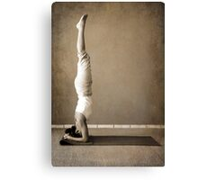 yoga5 Canvas Print
