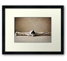 yoga1 Framed Print