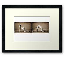 yoga10 Framed Print