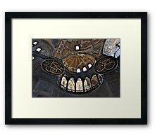 Hagia Sophia museum Framed Print