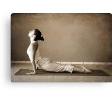 yoga13 Canvas Print