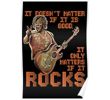 Jack Black - It only matters if it rocks Poster
