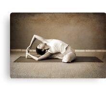 yoga12 Canvas Print