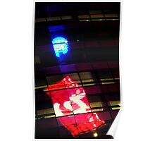 Times Square Crystal Ball in Reflection Poster