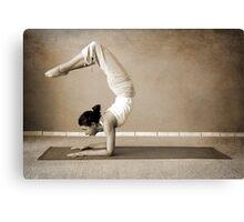 yoga14 Canvas Print