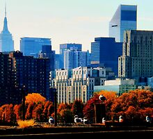 A Manhattan Autumn by James Aiken