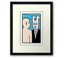Invisible Framed Print
