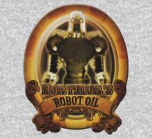 Mortimors Robot Oil. Kids Clothes