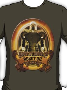 Mortimors Robot Oil. T-Shirt