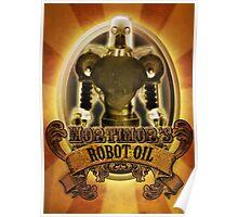 Mortimors Robot Oil. Poster