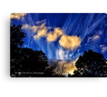 Long Island Sky at Dusk Canvas Print