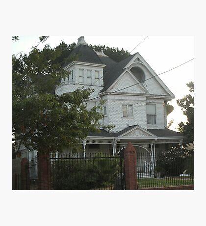 Haunted House Photographic Print