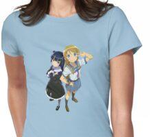 Kirino and Kuroneko Womens Fitted T-Shirt