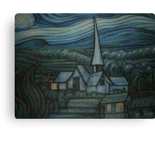 Church on the Wall Canvas Print