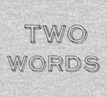 TWOWORDS  by Simone Ravani