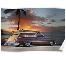 1950 Buick Woody Wagon XI Poster