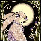 Moon Hare by Anita Inverarity