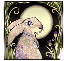 Moon Hare Poster