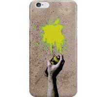 Apple Spray can Splash V3 iPhone Case/Skin