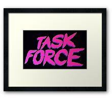 Task Force Framed Print