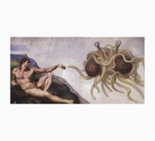 Flying Spaghetti Monster by Jenny Lea
