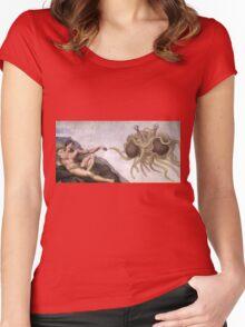Flying Spaghetti Monster Women's Fitted Scoop T-Shirt