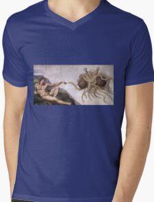 Flying Spaghetti Monster Mens V-Neck T-Shirt