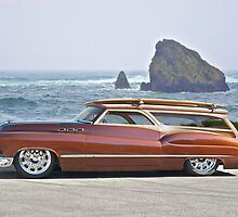 1950 Buick Woody Wagon V by DaveKoontz