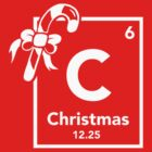 Chemistry of Christmas - Geeky Christmas Shirt by BootsBoots
