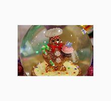 Gingerbread Man Snowglobe - 1 Unisex T-Shirt