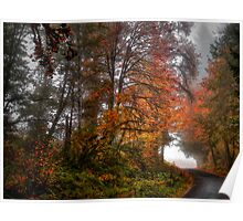 The Last Fall Day ~ Fall Colors ~ Poster
