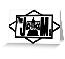 The JAMS Logo (KLF) (Black) Greeting Card